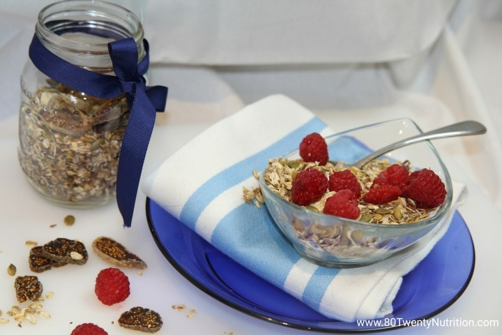 Slow Cooker Granola by Christy Brissette, MS, RD