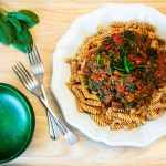 lentil rotini pasta