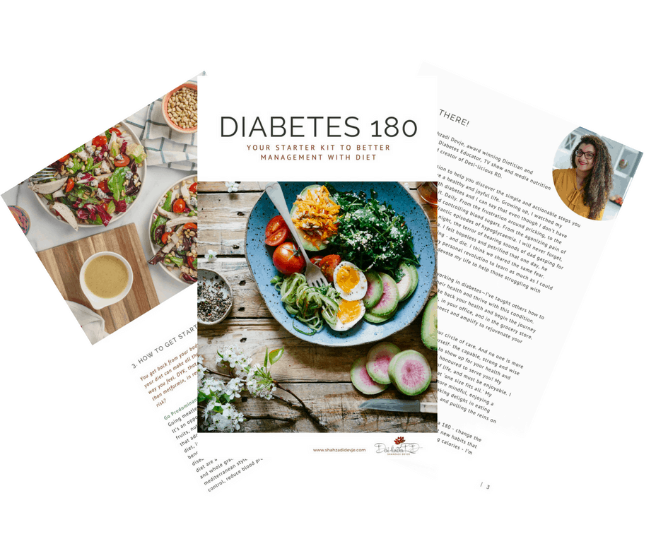Diabetes 180: Your FREE Starter Kit To Better Management With Diet