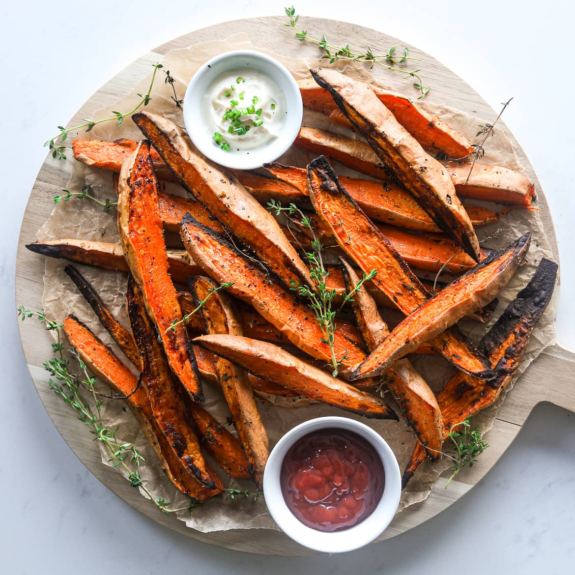 Crispy Baked Sweet Potato Wedges Easy And Healthy Recipes