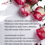 Mother's Day 2020 poem on a rose flat lay