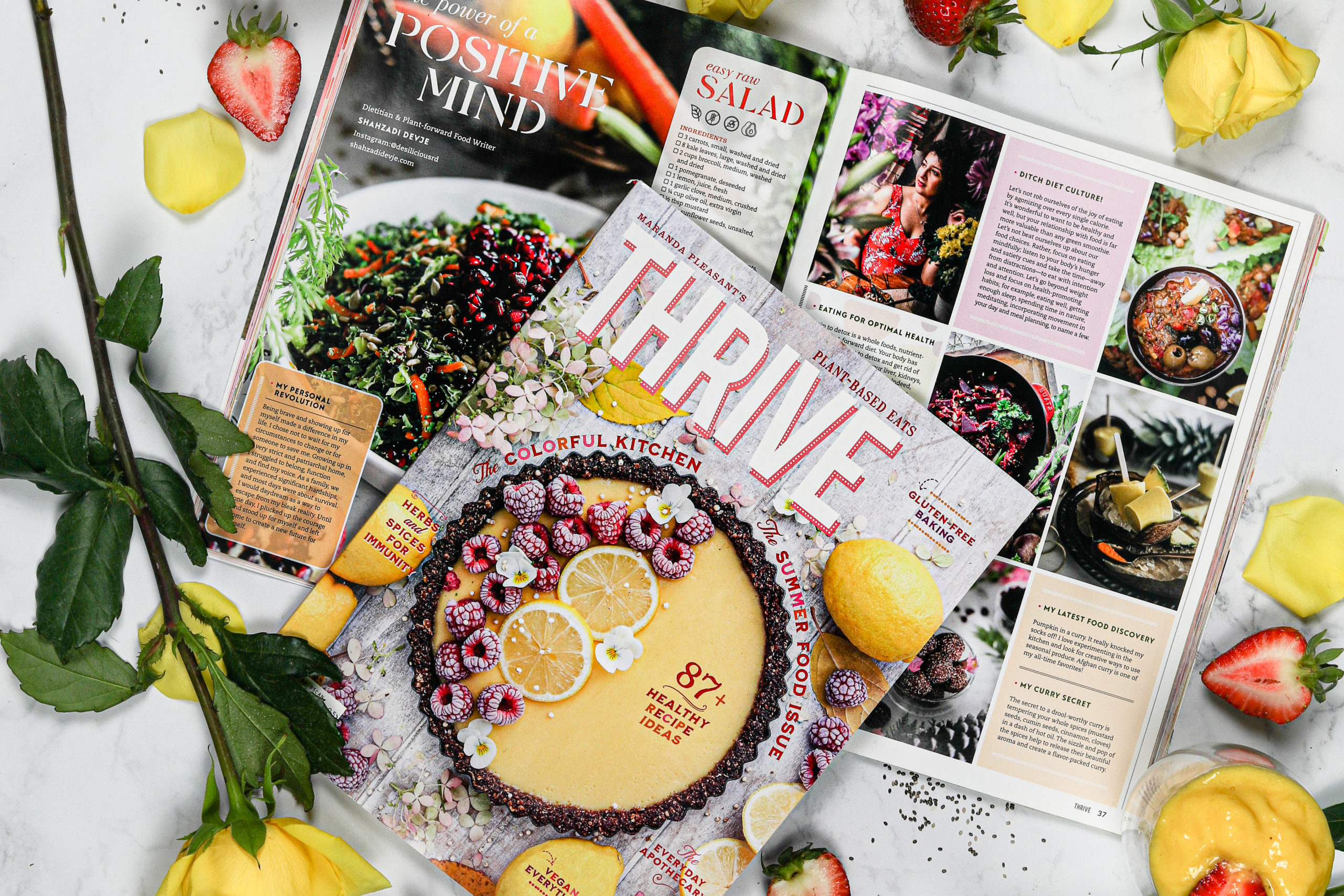 Thrive Magazine - The #1 Plant Based Print Magazine