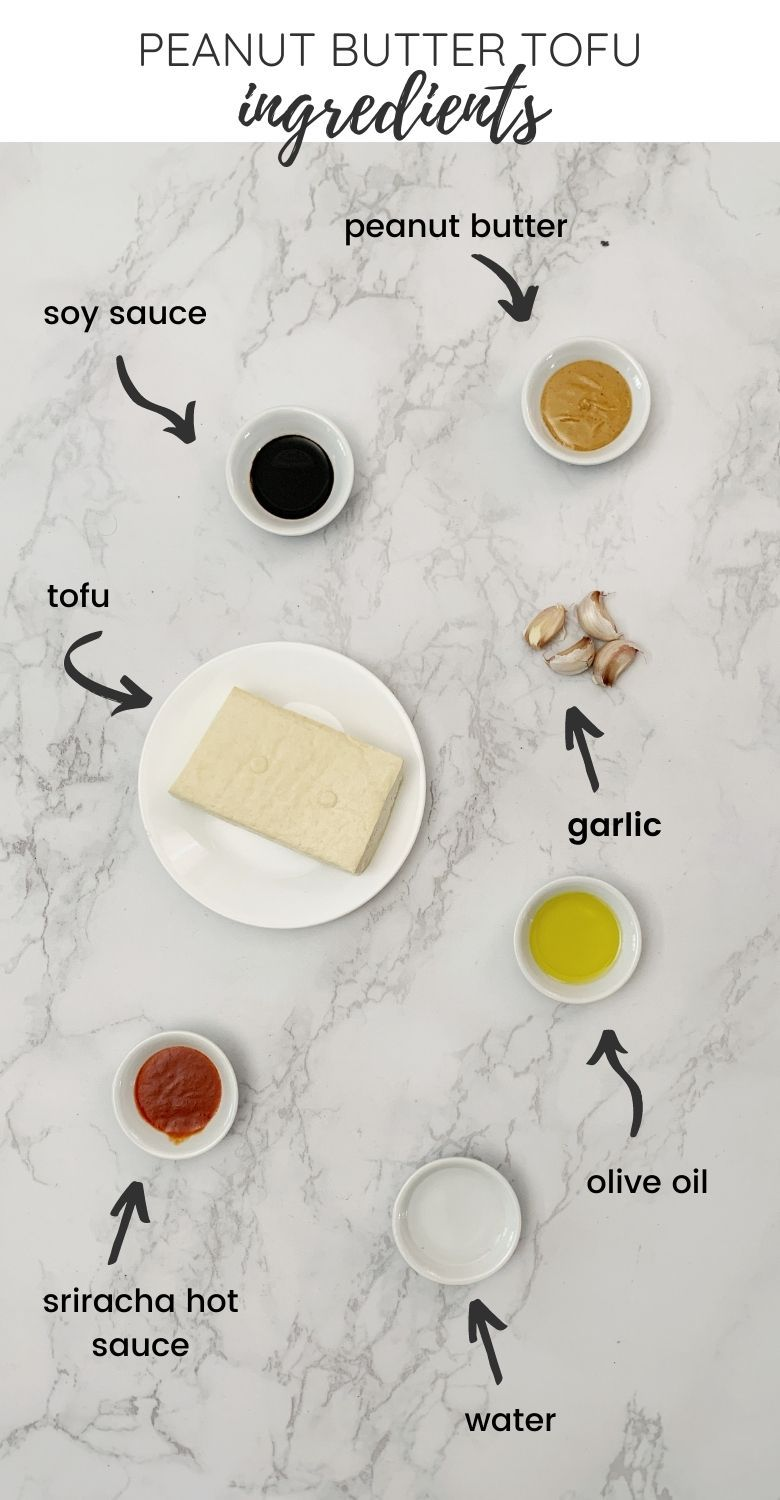 flatlay: ingredients for the best tofu marinade